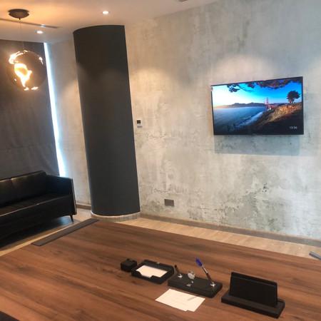 ShahAziz Manger's Office Feature Wall
