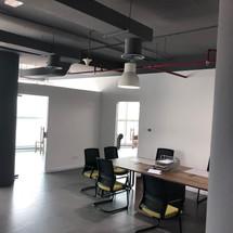 Vast Vogue Studio Dubai Industrial Open Ceiling in