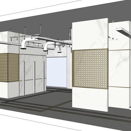 3D Store design by Janat
