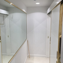 Fitting room area desighned by Janat Office Fit Out