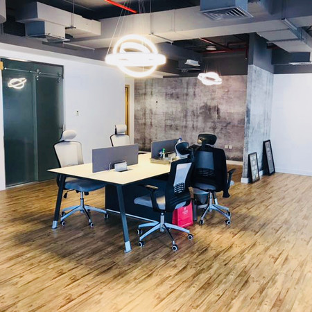 Both Group Open Office Space Feature Wal