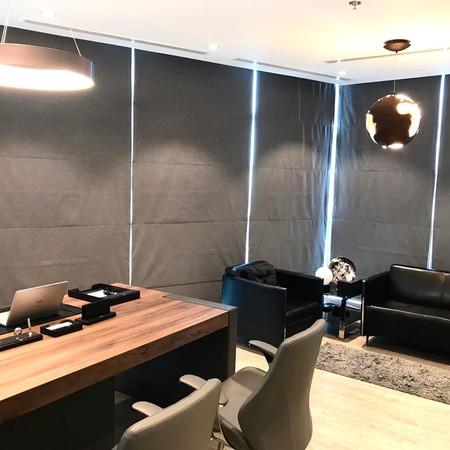 ShahAziz Manager office designed by Janat Fit Out, Dubai.