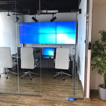 Orion Systems Dubai CCTV monitoring room