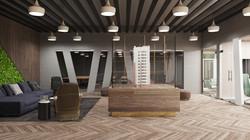 3D Office Partiotion Design
