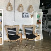 Lounge area, designed by Janat in Dubai