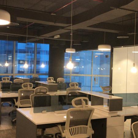 Shah Aziz Industrial Open Ceiling in Smart heights, Dubai.