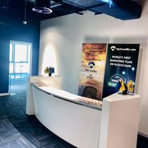 Reception Desk in My Travel Bizz, Dubai
