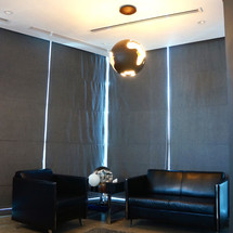 Manager's office waiting area in Smart Heights, TECOM