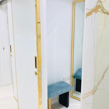 Changing room, designed by Janat Office Fit Out, Dubai
