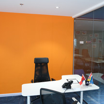 Manager Office designed by Janat Office Fit Out at The One Tower.
