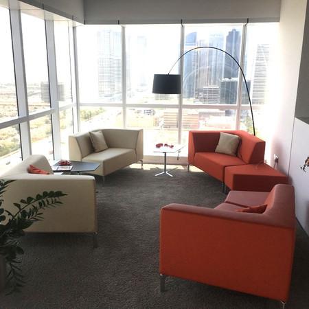 Client Lounge Area, Dubai.