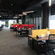 Trend Micro Open Office in Swiss Tower, JLT, Dubai