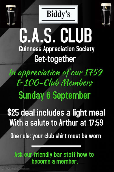 GAS Club September - Made with PosterMyW