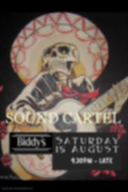 Sound Cartel August - Made with PosterMy