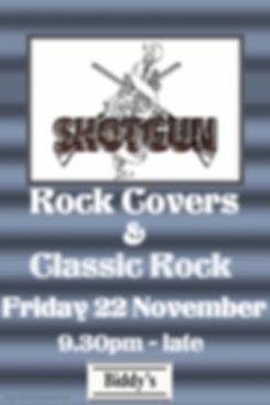 Shotgun November - Made with PosterMyWal
