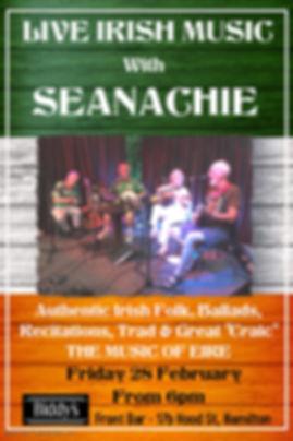 Seanachie Feb 28th - Made with PosterMyW