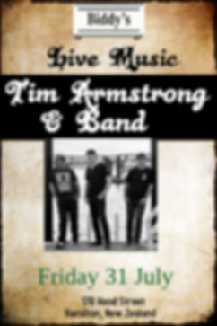 Tim Armstrong JUNE - Made with PosterMyW