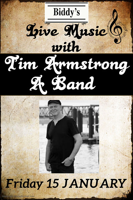 Tim Armstrong January - Made with Poster