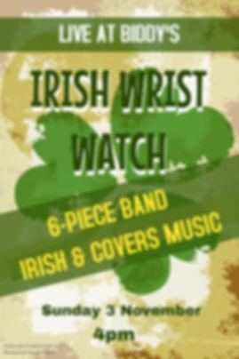 Copy of Irish Wrist Watch - Made with Po