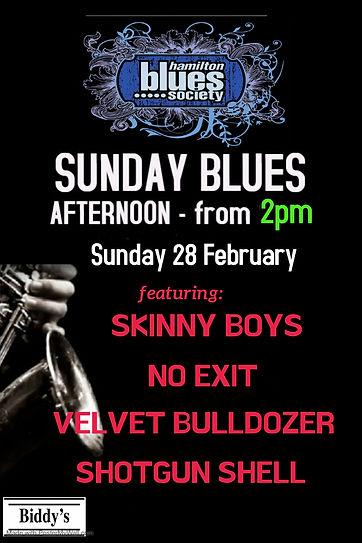 Sunday Blues Arvo - Made with PosterMyWa