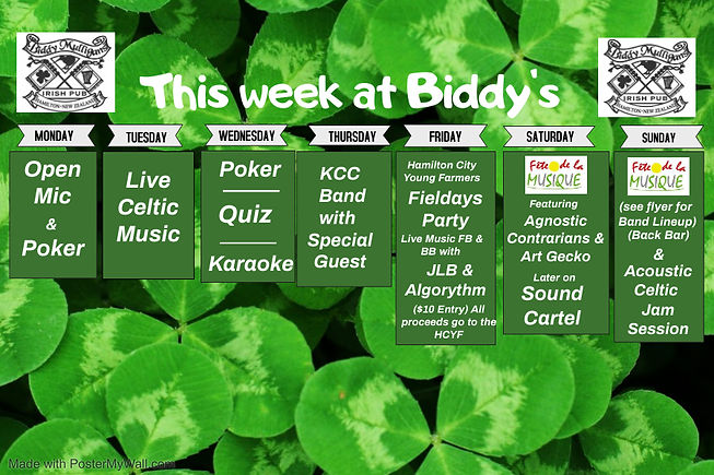 whats on this week 2012020 - Made with P