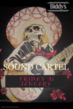 Sound Cartel January - Made with PosterM