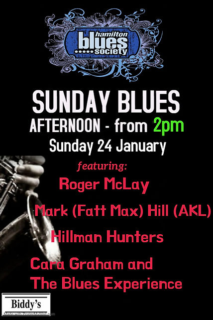 Sunday Blues Arvo - Made with PosterMyWa