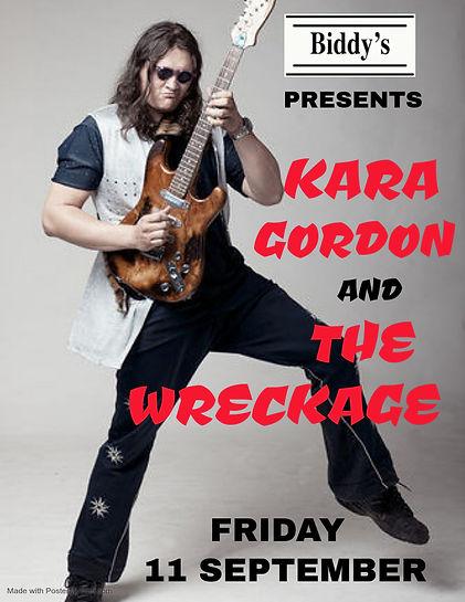 Copy of Kara Gordon tonight - Made with