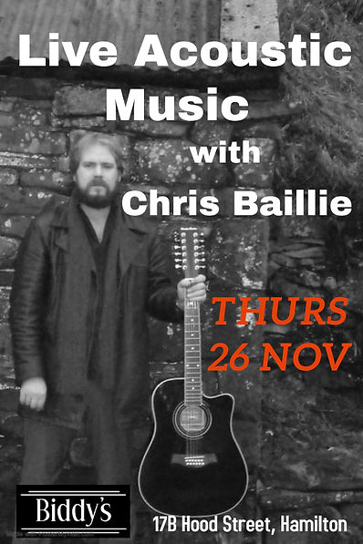 Copy of Chris Baillie - Made with Poster