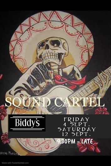 Sound Cartel Sept - Made with PosterMyWa