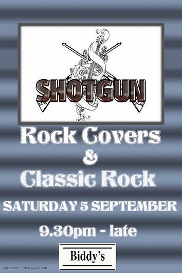 Shotgun September - Made with PosterMyWa