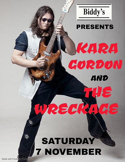 Copy of Kara Gordon tonight - Made with