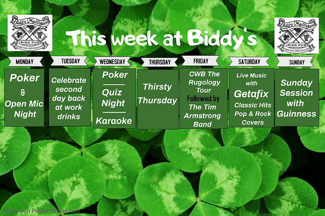 Whats  on this week - Made with PosterMy
