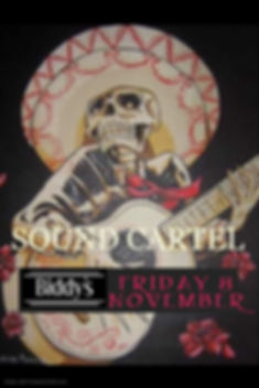 Sound Cartel November - Made with Poster