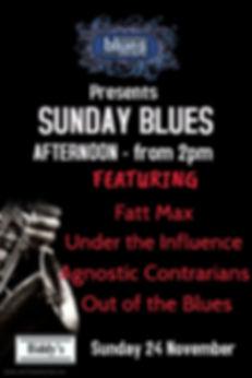 Sunday Avo Blues November - Made with Po