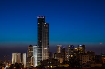 Tel Aviv at Night