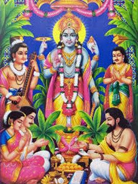 Monthly Purnima Satyanarayana Puja