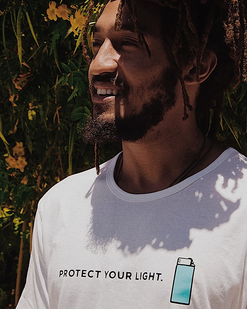"""Protect Your Light """"Protect your Lighter"""" T-shirt"""