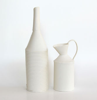 Gillian Hodes 2018 White bottle and jug