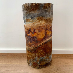 Joomchi Corroded Vessel