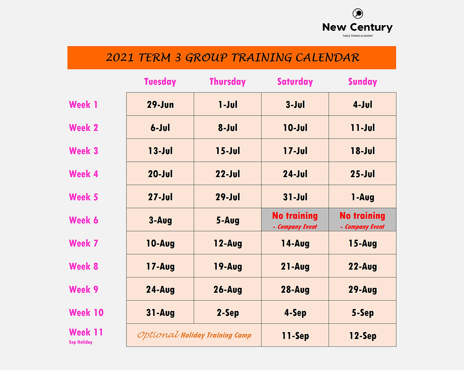 2021 Group Training Calendar (Term 3).pn
