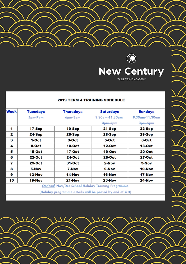 2019 Term 4 Training Schedule (2).png