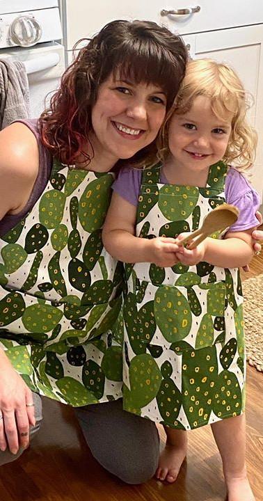 Big & Little Baker Aprons