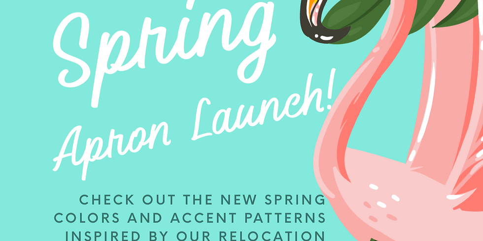 Spring Apron Launch!