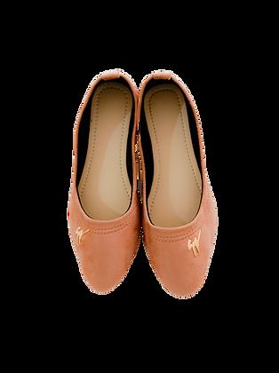 Velvet  Badge Shoe