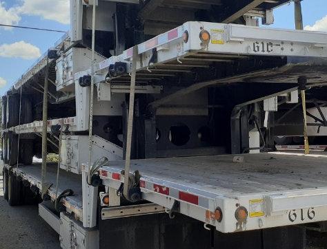 2016 Lode King Drop Deck Tandem Axel - Unit 610