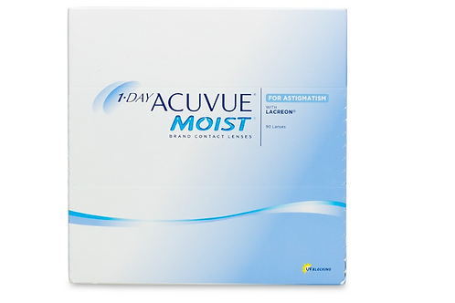 1 Day Acuvue Moist - Astigmatism - 90 Pack
