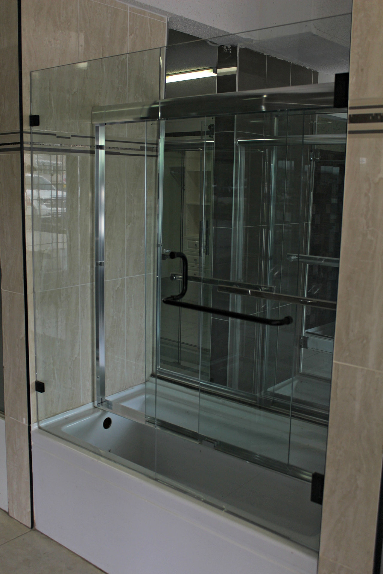 sliding how size replace of instructions glass install full video afterpartyclub dreamline installation frameless tub doors with adjust door to swinging on shower enigma