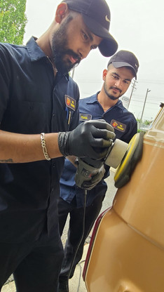 Wax and Power Polishing Services Provided