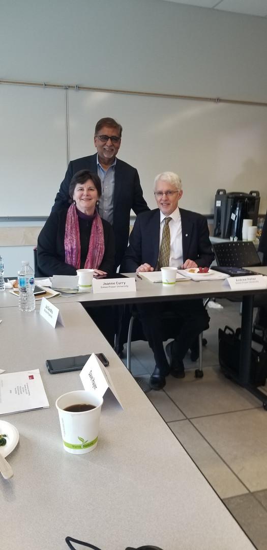 SFU India Advisory Council Meeting - March 2019